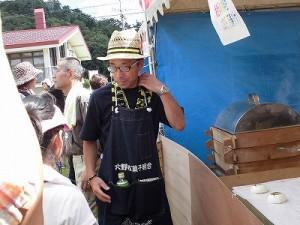 六呂師高原アルプス音楽祭2014 疲れてしまった御菓子司おさやの旦那さん/どこまでもアマチュア