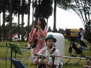 六呂師高原アルプス音楽祭2014 沖縄民謡が堪能できるふみんちゅのステージ/どこまでもアマチュア