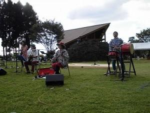 六呂師高原アルプス音楽祭2014 沖縄の雰囲気を伝えるふみんちゅ/どこまでもアマチュア