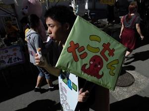 第50回福井高専祭 行商のお兄さん/どこまでもアマチュア