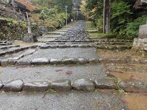 ふるさとの魅力を語ろう!景観づくり団体のつどい 平泉寺区内の石段/どこまでもアマチュア