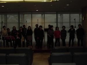 もう最高!クリスマスコンサート2014 in 勝山ニューホテル リハーサル風景/どこまでもアマチュア