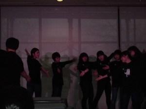 もう最高!クリスマスコンサート2014 in 勝山ニューホテル 演技をスタートした劇団ドラゴン・ファミリー/どこまでもアマチュア