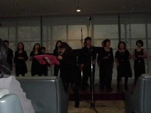 もう最高!クリスマスコンサート2014 in 勝山ニューホテル 南部 比登美氏の振りが大きくなってきたゴスペル ウィンディ フレンズ/どこまでもアマチュア