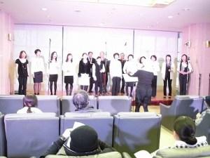 もう最高!クリスマスコンサート2014 in 勝山ニューホテル 盛り上がっているゴスペル ウィンディ フレンズ/どこまでもアマチュア