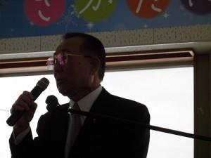 さかだに雪まつり 来賓 参議院議長 山崎 正昭氏/どこまでもアマチュア