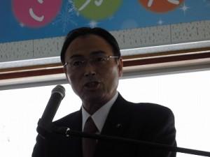 さかだに雪まつり 来賓 県議会議員 山岸 猛夫氏/どこまでもアマチュア