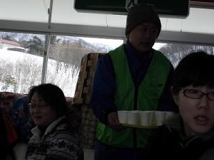 さかだに雪まつり 牛乳で乾杯/どこまでもアマチュア