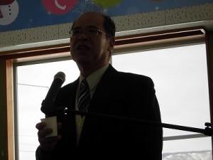 さかだに雪まつり 食育のふるさと阪谷をよくする会 会長 石塚 昭夫氏/どこまでもアマチュア