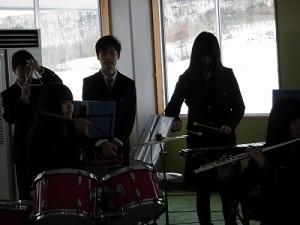 さかだに雪まつり 奥越明成高校吹奏楽部/どこまでもアマチュア