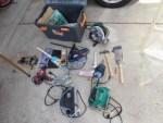 日曜大工自習教室~ズブの素人編~/どこまでもアマチュア 電動工具入れに収納している工具