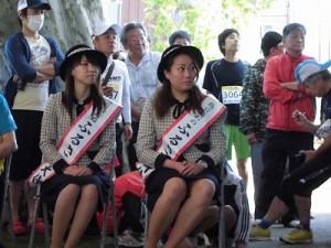 第51回越前大野名水マラソン 越前大野ふるさと大使 杉本亜依さん、城地加奈さん/どこまでもアマチュア