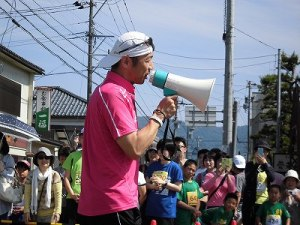 第51回越前大野名水マラソン 喋りまくるゲストランナー 森脇 健児氏/どこまでもアマチュア