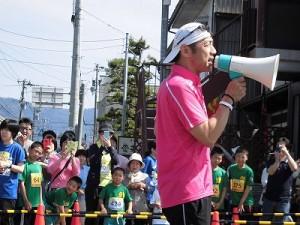 第51回越前大野名水マラソン とにかく話し続けるゲストランナー 森脇 健児氏/どこまでもアマチュア