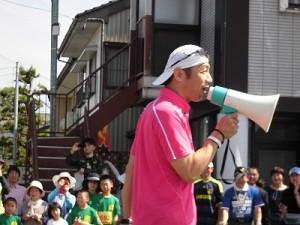 第51回越前大野名水マラソン トークが止まらなくなったゲストランナー 森脇 健児氏/どこまでもアマチュア