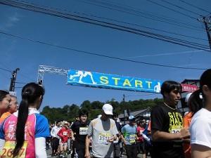 第51回越前大野名水マラソン マイペースでスタートを切るマラソンランナー達/どこまでもアマチュア