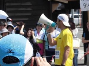 第51回越前大野名水マラソン トークが止まらないゲストランナー 森脇 健児氏/どこまでもアマチュア