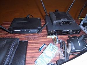 第30回大野市福祉ふれあいまつり ワイヤレスマイク受信機3台/どこまでもアマチュア