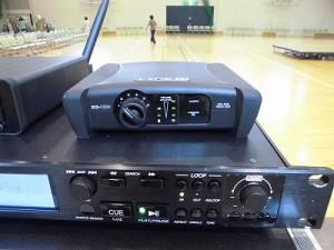LINE XD-V30の受信機