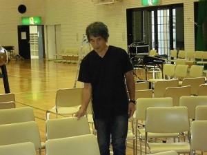 結の故郷・里芋音頭 踊り大会 & 清水ゆう・ハーバーライツオーケストラコンサート 仕込み/どこまでもアマチュア