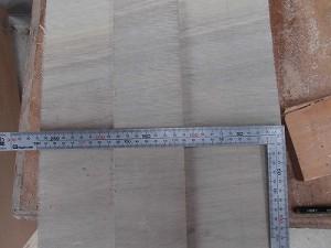 日曜大工自習教室~下手の横好き編~ 土台の幅を決定/どこまでもアマチュア