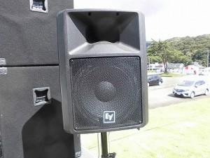 六呂師高原アルプス音楽祭2015 Electrovoice SX300/どこまでもアマチュア
