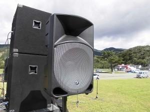 六呂師高原アルプス音楽祭2015 MACKIE THUMP TH-15A/どこまでもアマチュア