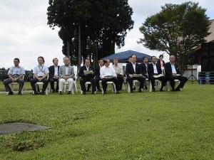 六呂師高原アルプス音楽祭2015 来賓席/どこまでもアマチュア