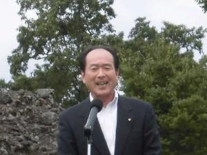 六呂師高原アルプス音楽祭2015 市議会議長 高岡 和行氏/どこまでもアマチュア