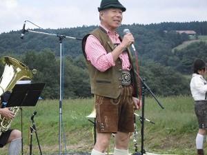 六呂師高原アルプス音楽祭2015 アルプス音楽団 熱田 健氏のヨーデル/どこまでもアマチュア
