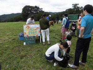 六呂師高原アルプス音楽祭2015 乗馬体験コーナー/どこまでもアマチュア
