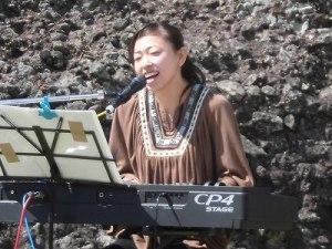 六呂師高原アルプス音楽祭2015 堀川 千尋氏アップ写真/どこまでもアマチュア