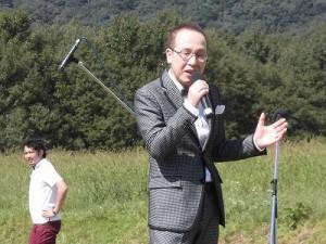 六呂師高原アルプス音楽祭2015 佐藤 仁美氏「六呂師高原」/どこまでもアマチュア