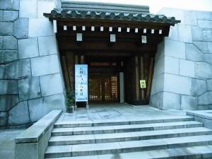 お城でゴスペルⅢ 勝山城博物館 入口/どこまでもアマチュア