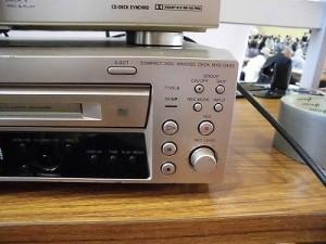 下庄地区敬老会 SONY CDMDデッキ MXD-D400/どこまでもアマチュア