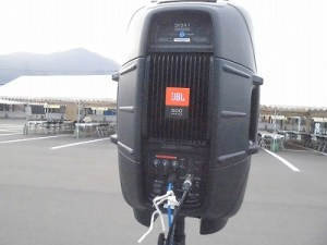 結の故郷 越前おおの 新そばまつり2015 JBL EON 515XT Self Powered Loudspeaker/どこまでもアマチュア