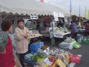 結の故郷 越前おおの 新そばまつり2015 大野城下軽トラ野菜市 菜々彩/どこまでもアマチュア