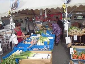 結の故郷 越前おおの 新そばまつり2015 大野城下軽トラ野菜市 たくさんの野菜/どこまでもアマチュア