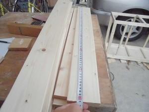 日曜大工教室~我流か自己流か編~ 余り材料の寸法計測/どこまでもアマチュア