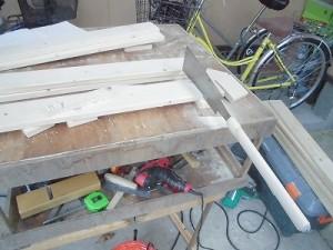 日曜大工教室~我流か自己流か編~ 側面の材料切り出し/どこまでもアマチュア