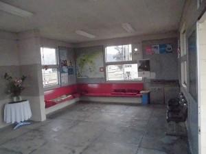 越前東郷駅を見てきました。 待合コーナーの様子/どこまでもアマチュア