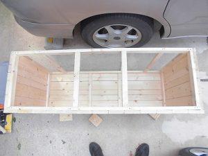 日曜大工教室~我流か自己流か編 天板取り付け位置の確認/どこまでもアマチュア