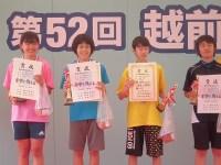 第52回越前大野名水マラソン 記念撮影/どこまでもアマチュア