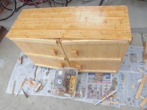 日曜大工教室~我流か自己流か編~ ペンキを一通り塗ってみた/どこまでもアマチュア
