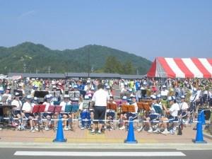第52回越前大野名水マラソン 吹奏楽部の応援演奏/どこまでもアマチュア