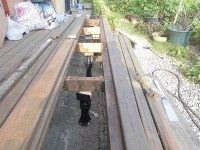 日曜大工教室~基礎からやり直し編~ 床板3枚の配置場所もペンキ塗り/どこまでもアマチュア