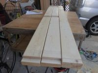 日曜大工教室~基礎からやり直し編~ 床板の切り出し2枚目終了/どこまでもアマチュア