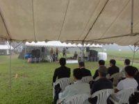 開会式前の参加者席