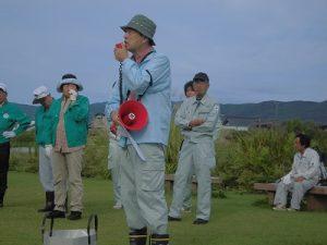 高山氏が開会式の開始を宣言