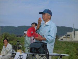 特定非営利活動法人ドラゴンリバー交流会 副理事長 和田昭十四氏